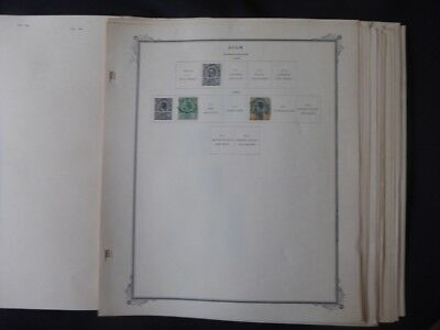 Thailand Stamp Collection on Scott Specialty Album pages to 1961