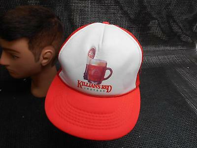 Old Vtg KILLIAN'S RED INSTEAD Men's HAT Truckers Cap Foam Snapback Beer