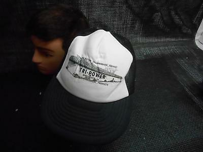 Old Vtg TRI-POWER TRANSMISSION PRODUCTS Men's HAT Truckers Cap Foam Snapback