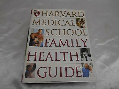 1999 HARVARD MEDICAL SCHOOL FAMILY HEALTH GUIDE Book 1288 pages Hardcover