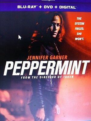 Peppermint bluray only or dvd you choose(read description)