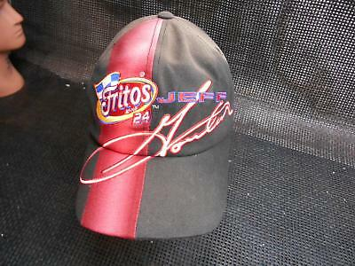 Old Vtg FRITO NASCAR Mens HAT Jeff Gordon #24 Truckers Snapback