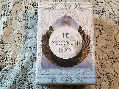 The Moonchild Tarot Card Deck With Guidebook -Stunning- by Danielle Noel - New