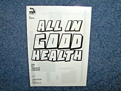 All In Good Health The P3 Justice League Comic Book