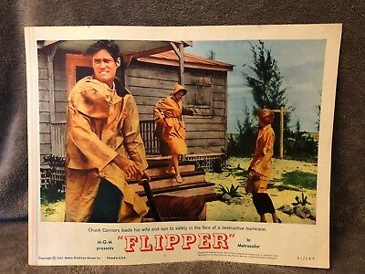 1963 Movie Poster Lobby Card M G M Flipper # 63 / 140 Chuck Connors Metrocolor