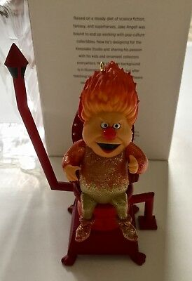 HE'S MR. HEAT MISER Hallmark ornament 2018 new in box Year Without A Santa Claus