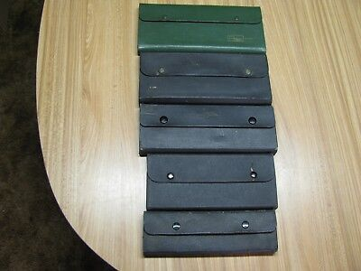 Lot Of 5 Different Drafting Sets In Cases (Parts Or Restore)