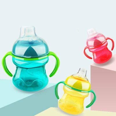 Leak-Proof Safety Duckbill Bottle For Kids Baby Infant Drinking Bottle Cups RW