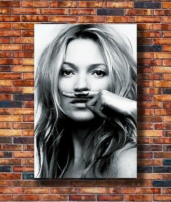 Hot Fabric Poster Kate Moss Hot Sexy Super Model 36x24 30x20 40x27inch Z1823