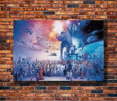 Hot Fabric Poster Star Wars Darth Vader Hot Classic Movie 36x24 40x27inch Z723