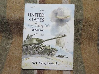 Fort Knox, KY U.S. Army Training Center armor 1963 Year Book,W/Record Co.E April