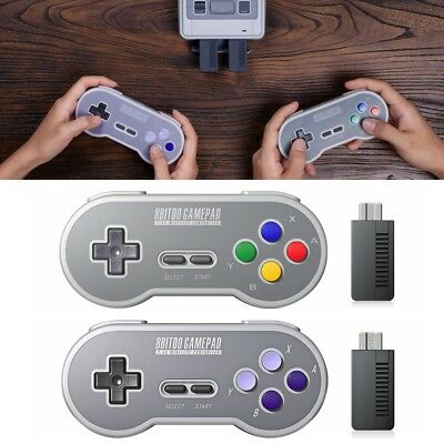 Hot Sale 8Bitdo SN30 Wireless Controller with 2.4G NES Receiver Classic Joystick