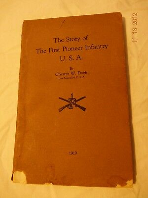 BOOK: WW1 U S ARMY UNIT HISTORY. 1st.Pioneer Infantry USA with Roster