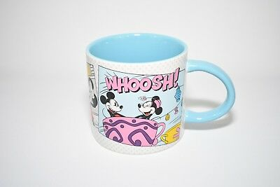Disney Parks Mickey & Minnie Mouse at Disneyland Comic Strip Ceramic Mug
