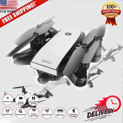 Dual GPS FPV Drone LED RC Quadcopter With 1080P HD Camera Wifi 3D Headless Mode