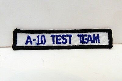 Republic A-10 Thunderbolt II Test Team Patch, Warthog, USAF, Edwards AFB
