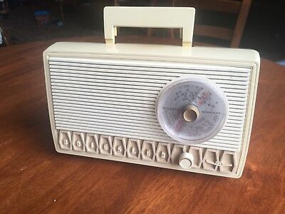 Retro KRIESLER Newscaster Tube Radio 11-99 Australian Made Vintage 1950s Mono