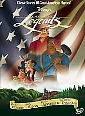 Disney American Legends DVD Brand new and Sealed