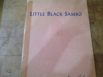 "Children's Book--""little Black Sambo""--A Mary Perks,book--1931 And 1943"
