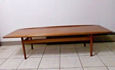 Vintage Danish Modern Coffee Table - SIGNED