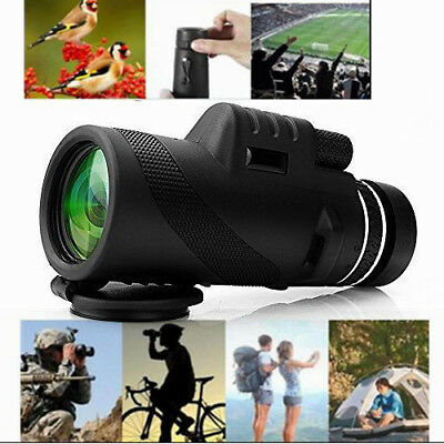 Optical Telescope HD Lens Monocular Telescope  Zoomable 40x60 Sports