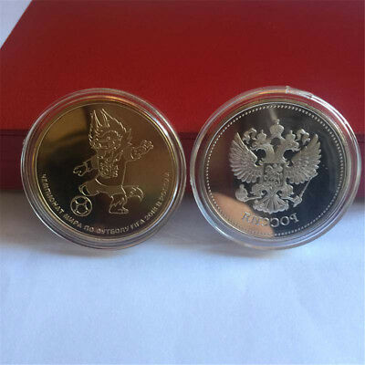 Russian 2018 Football World Cup Commemorative Coin Football Collection Coins TOU