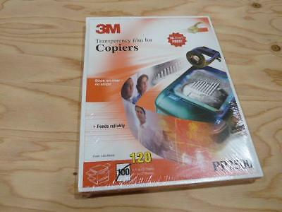 3M Transparency Film For Copiers PP2500 New Sealed 120 Sheets