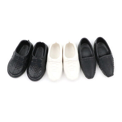 3 Pairs Dolls Cusp Shoes Sneakers For  Boyfriend  Doll WigFB