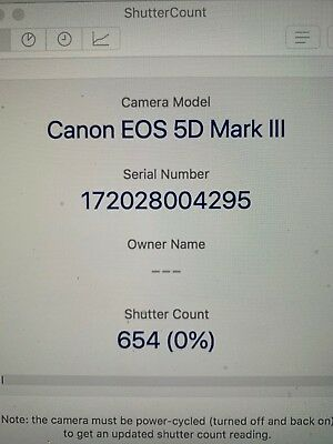 SUPERB 5D Mark III 654 LOW Shutter Count! 22.3MP DSLR Body Canon EOS VIDEO!