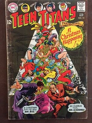 Teen Titans #13, Jan-Feb 1968, DC Comics, Grade 4.5 VG+