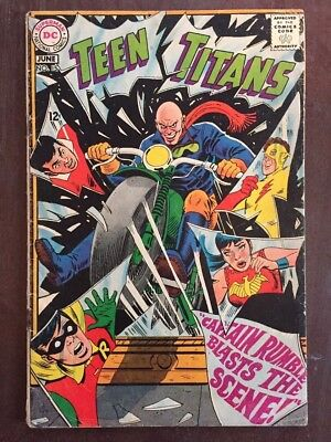 Teen Titans #15, May-Jun, DC Comics, Grade 4.5 VG+