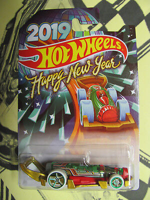 2019 Hot Wheels HAPPY NEW YEAR CARBONATOR WALMART EXCLUSIVE 9 available