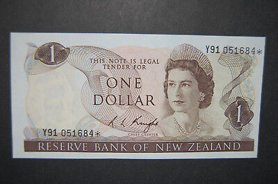 New Zealand (1975) ND. Elizabeth II 1 Dollar (Unc)