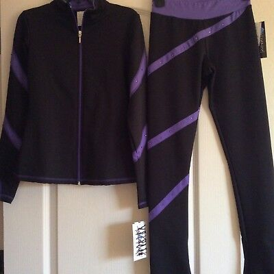 Nwt! Chloe Noel Skating Jacket & Pants Set! Cxl/axs $169.00+ Must See!!!