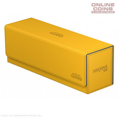 Ultimate Guard ArkHive™ 400+ Amber Trading Card Storage Box