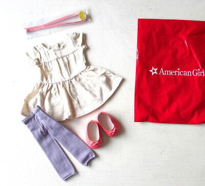 "NEW American Girl T-Shirt Tunic Outfit For 18"" Isabelle Luciana Blaire Dolls NIP"