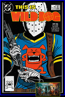 Wild Dog #1 (1987) 1St Appearance Arrowverse Elseworlds The Cw Dc Comics Vf/nm