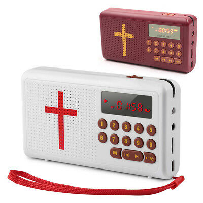 New Electronic English Wonder Bible Audio Player Rechargeable Best Gifts