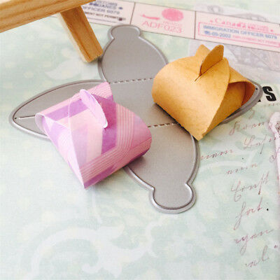 Gift box Metal Cutting Dies Stencil for DIY Scrapbooking Album Cards Making!#