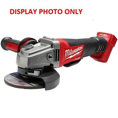 "Milwaukee M18CAG125XPD 18V Cordless Fuel (5"") Angle Grinder 