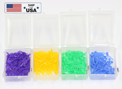 USA 1* Dental Blue SS 17.8*1.7mm Holes Poly-wedge Available Plastic 100PCS/BOX