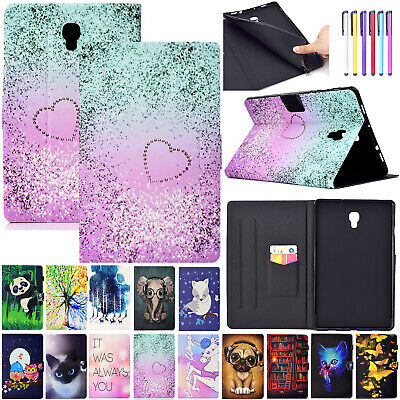 "For Samsung Galaxy Tab A 10.5"" T590 T595 Case Leather Stand Pattern Wallet Cover"