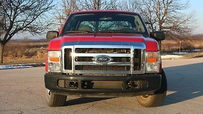2008 Ford F-350 Super Duty XL 2008 FORD F-350 SD Super Duty XL Crew Cab Pickup Truck + 8 Ft. bed + Low Milage