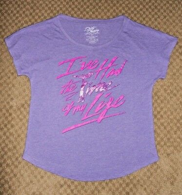 Dirty Dancing The Musical Ive Had The Time Of My Life Purple Glitter T Shirt