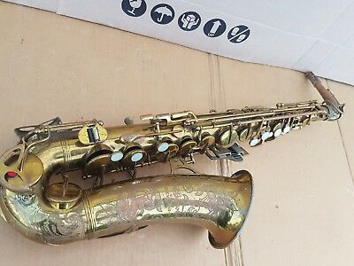 50's F.A. REYNOLDS 20 A by BUESCHER ALT / ALTO SAX / SAXOPHONE - made in USA