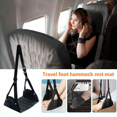 Foot Rest Portable Travel Footrest Hammock Carry Flight Leg Pillow Pad Airplanes