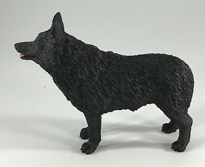 SCHIPPERKE Dog Figurine Figure Replica Hand Painted DOG LOVER GIFT NEW with BOX