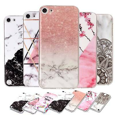 Marble Soft TPU Silicone Case Cover For Apple iPod Touch 5th 6th 5/6 Generation