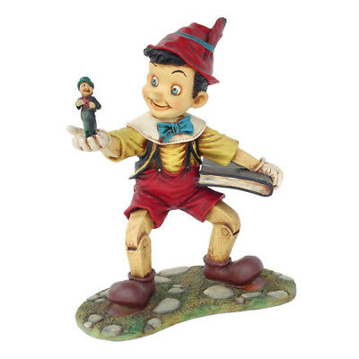 Pinocchio Walking with Book