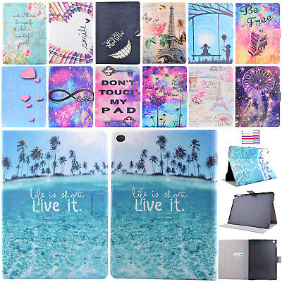 For iPad 9.7 2018 Case 6th Gen Mini Air Smart Walle Leather Flip Magnetic Cover